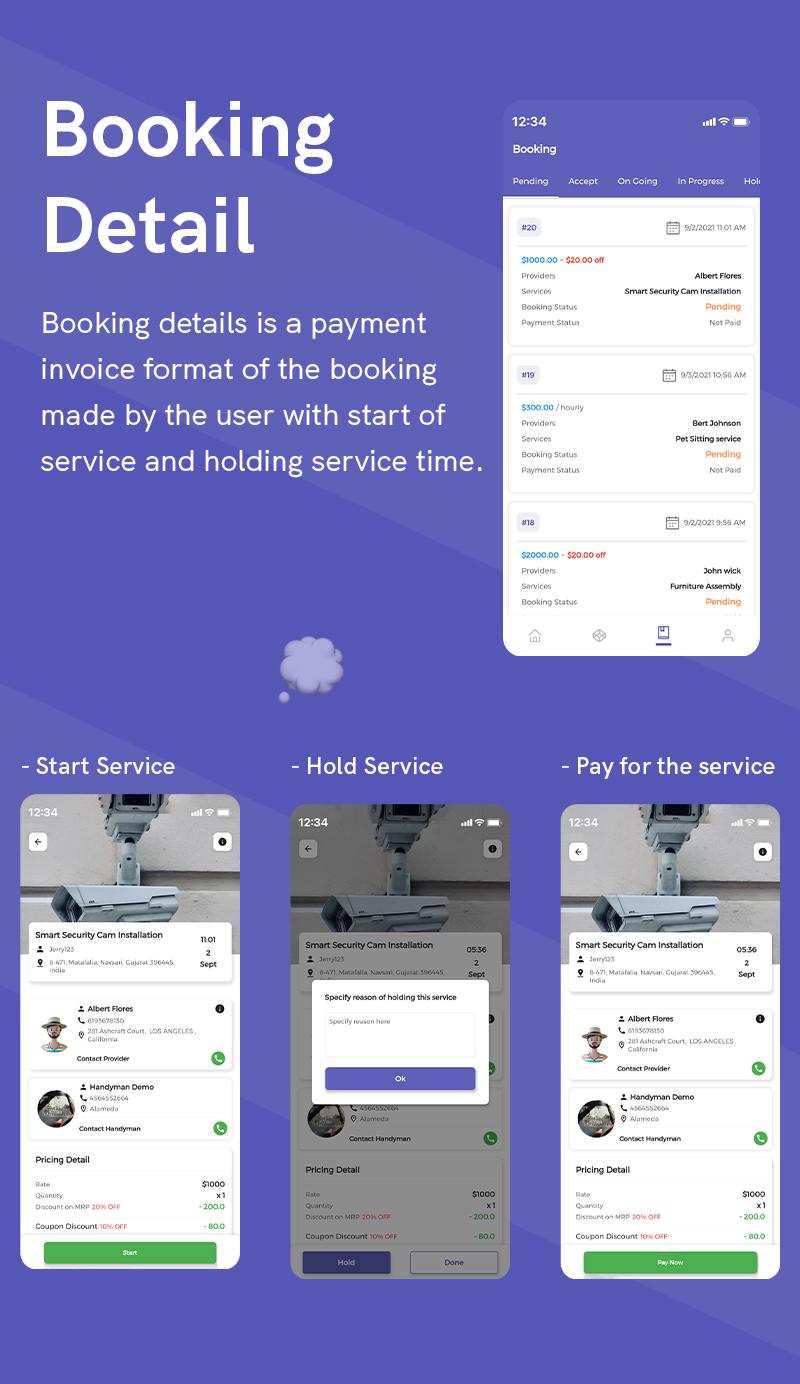 1  Handyman Service 11 Booking Detail