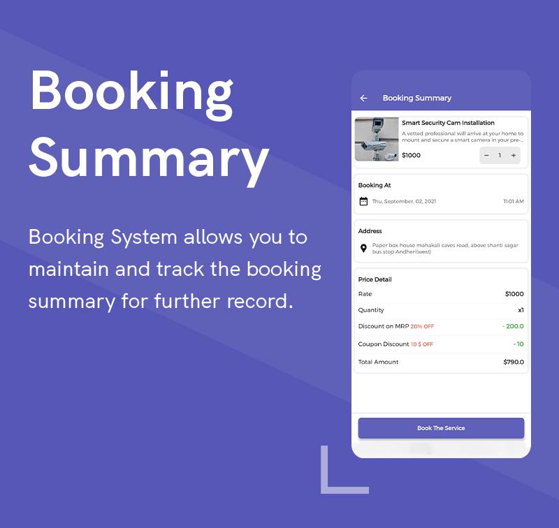 1  Handyman Service 8 Booking Summary