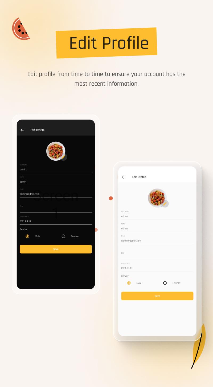 flutter recipe app | Ricetta | Iqonic Design flutter recipe app with laravel backend Ricetta 15