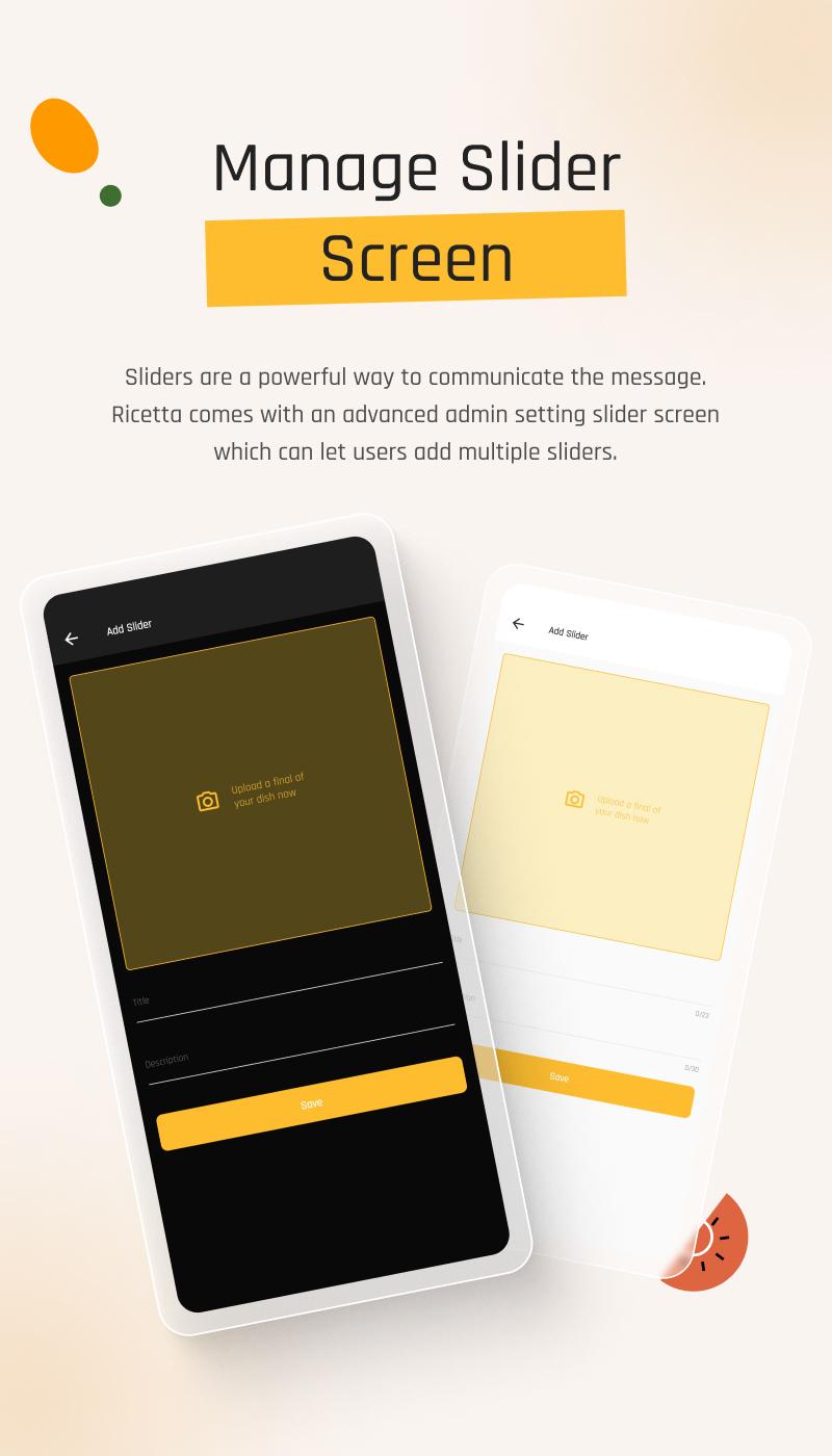Flutter Recipe App with Laravel Backend | Ricetta | Iqonic Design flutter recipe app with laravel backend Ricetta 16