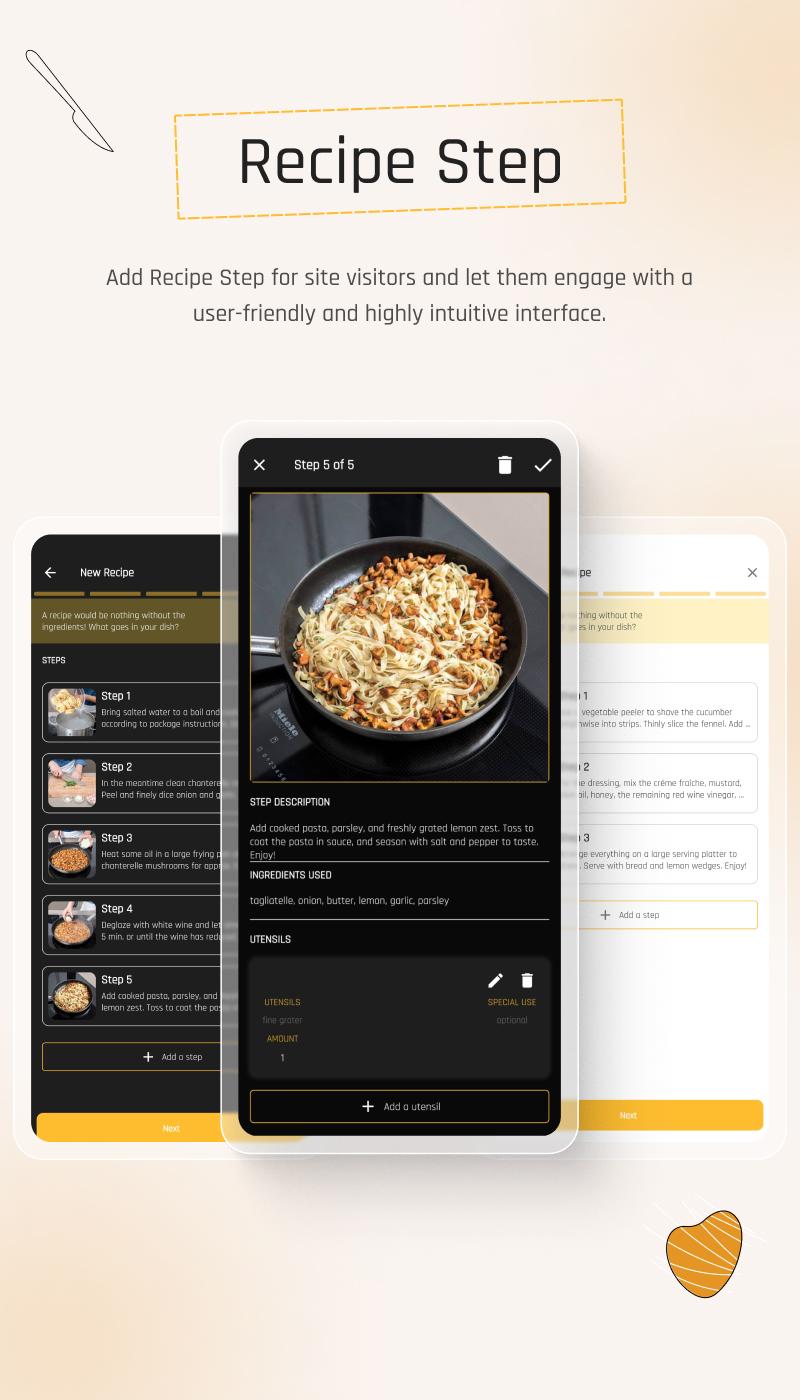 Flutter Recipe App with Laravel Backend | Ricetta | Iqonic Design flutter recipe app with laravel backend Ricetta 4