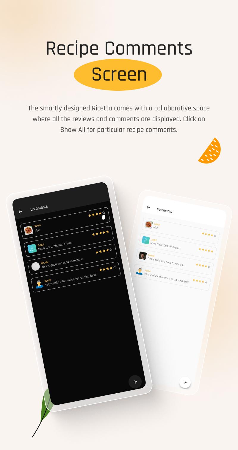 Flutter Recipe App with Laravel Backend | Ricetta | Iqonic Design flutter recipe app with laravel backend Ricetta 7