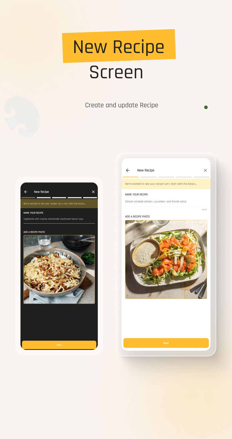 flutter recipe app | Ricetta | Iqonic Design flutter recipe app with laravel backend Ricetta 9