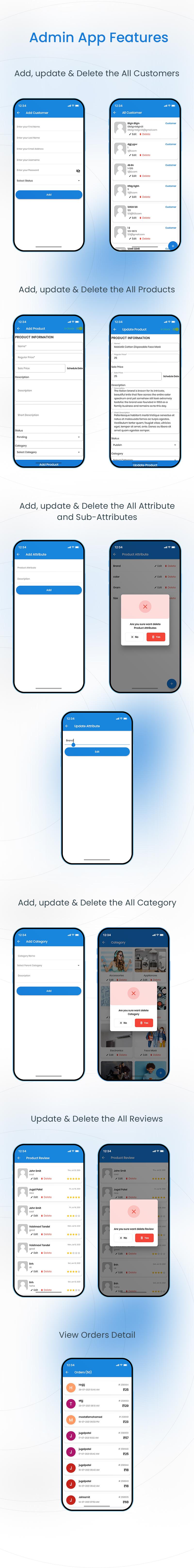 Woocommerce Admin and Dokan vendor app | Store Manager | Iqonic Design woocommerce admin and dokan vendor app Store Manager 02 admin
