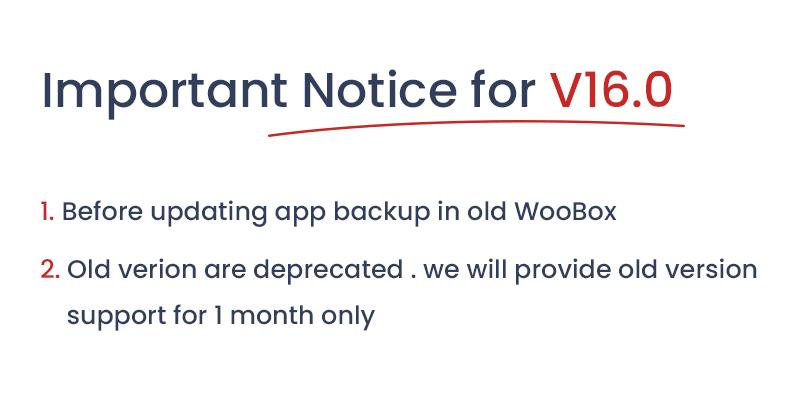 1 woocommerce flutter 2.0 e-commerce full mobile app All New WooBox 2.0 IMP notice