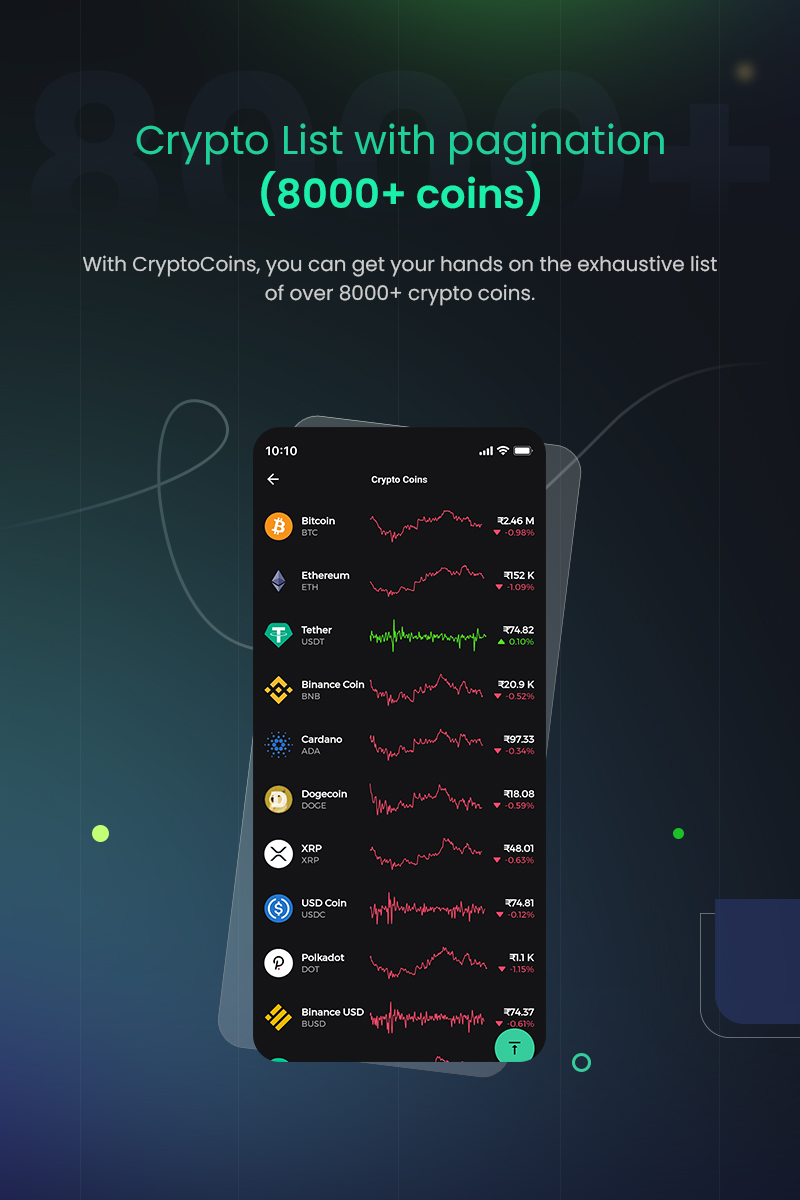 1 flutter full cryptocurrency app for live tracking CryptoCoin 02