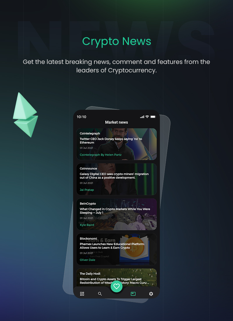 1 flutter full cryptocurrency app for live tracking CryptoCoin 05