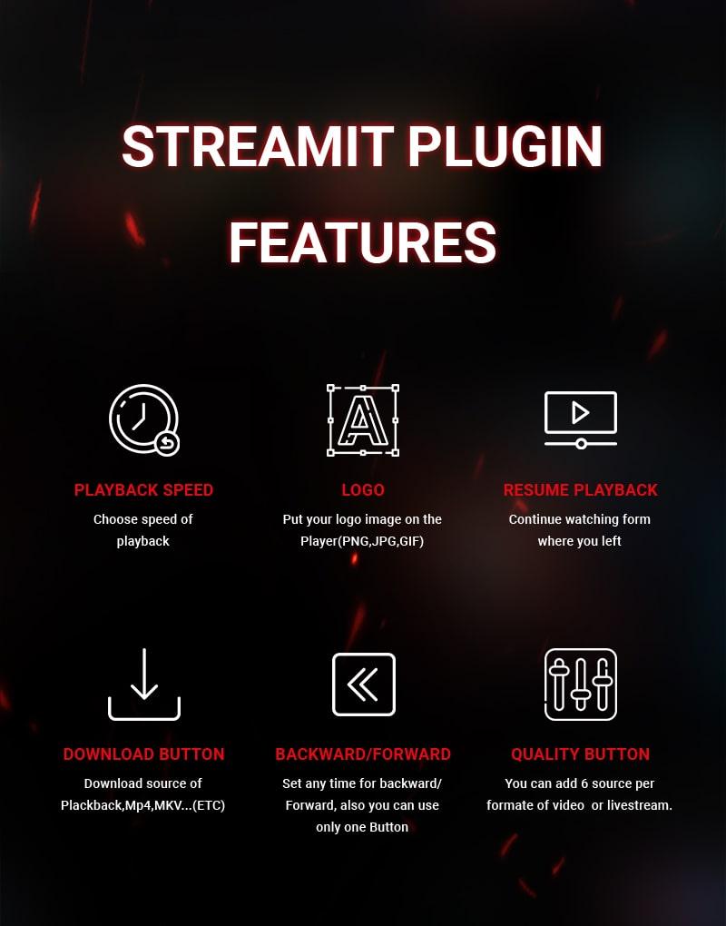 Live Video Streaming Player WordPress Plugin | Streamit | Iqonic Design live video streaming  player wordpress plugin Streamit 02 min