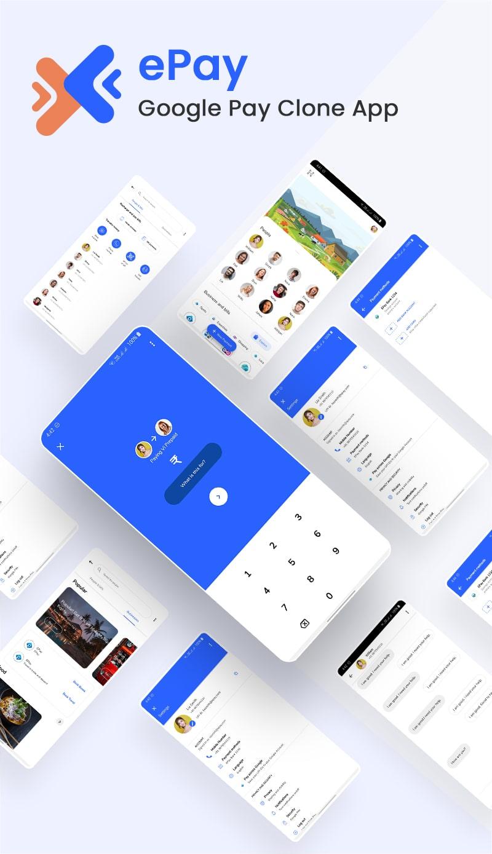 Free Google Pay Clone Flutter UI Kit | ePay | Iqonic Design free google pay clone flutter ui kit ePay Flutter 02 Banner 20epay min