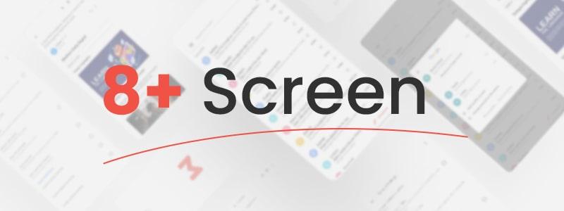 Free Flutter UI Kit Gmail Clone   iMail   Iqonic Design free gmail clone flutter ui kit iMail Flutter 03 11  screen imail min