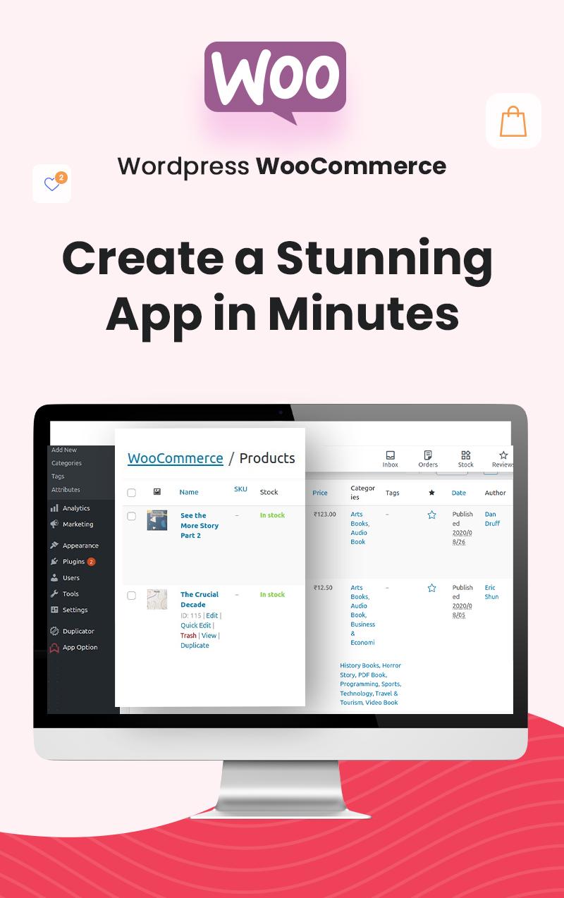 ProShop Dokan Multi Vendor - Android E-commerce Full App for Woocommerce - 19 android e-commerce full app for woocommerce ProShop Dokan Multi Vendor 11woocoerce