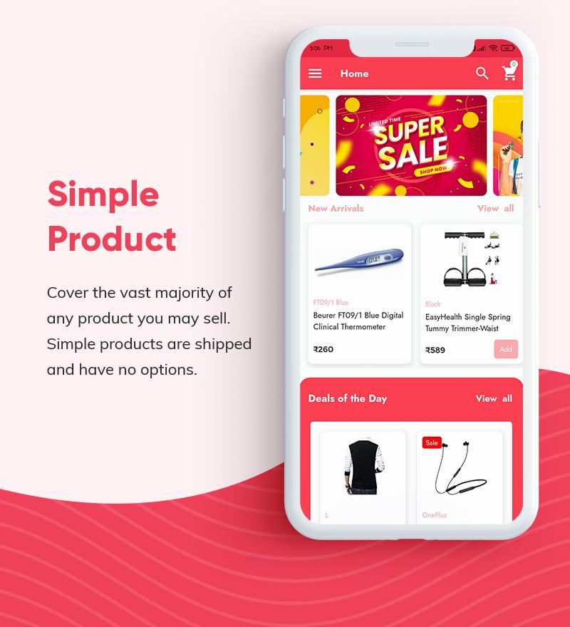 ProShop Dokan Multi Vendor - Android E-commerce Full App for Woocommerce - 8 android e-commerce full app for woocommerce ProShop Dokan Multi Vendor Features1