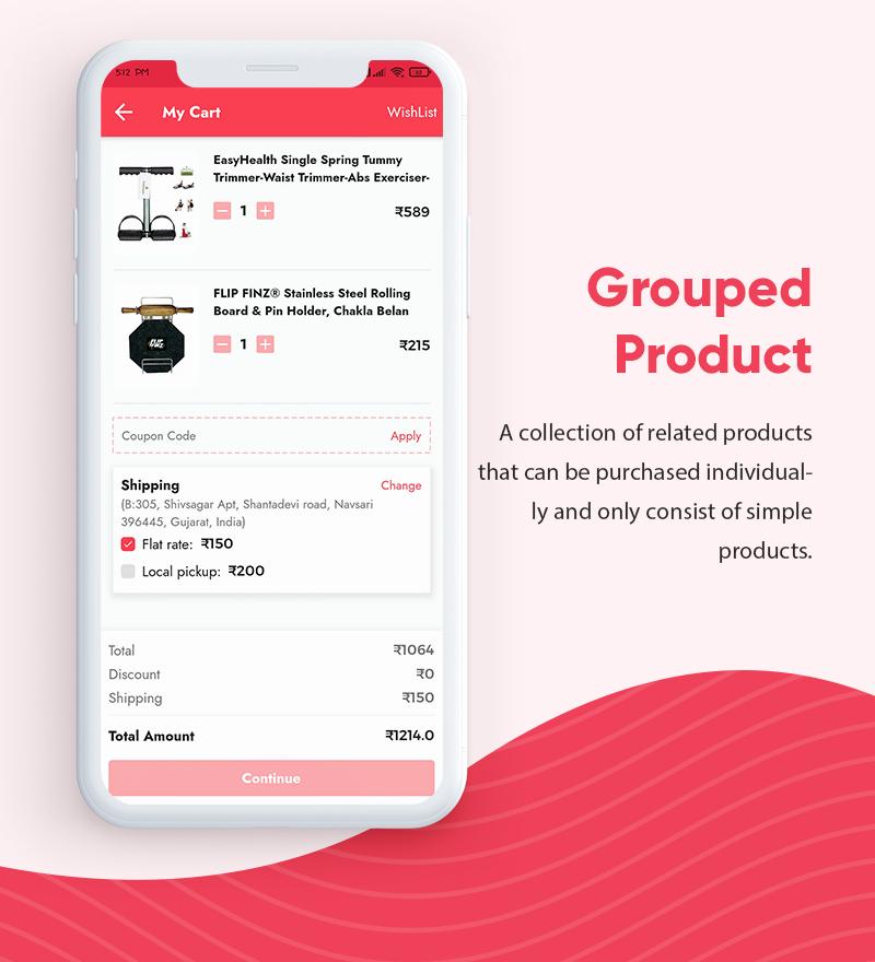 ProShop Dokan Multi Vendor - Android E-commerce Full App for Woocommerce - 9 android e-commerce full app for woocommerce ProShop Dokan Multi Vendor Features2