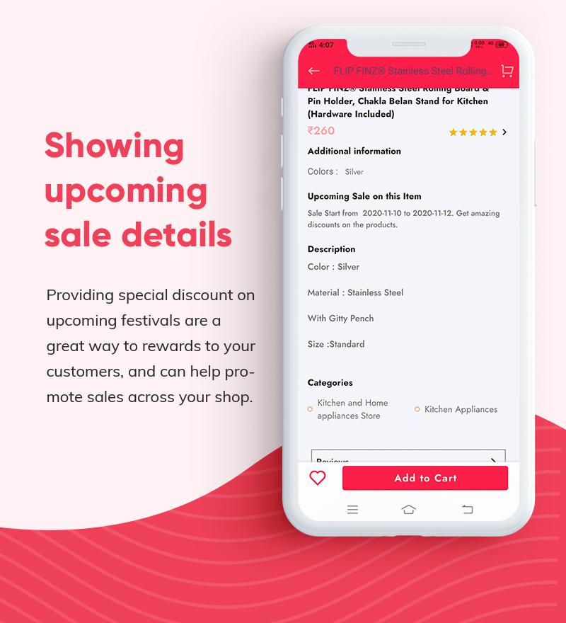 ProShop Dokan Multi Vendor - Android E-commerce Full App for Woocommerce - 14 android e-commerce full app for woocommerce ProShop Dokan Multi Vendor Features5