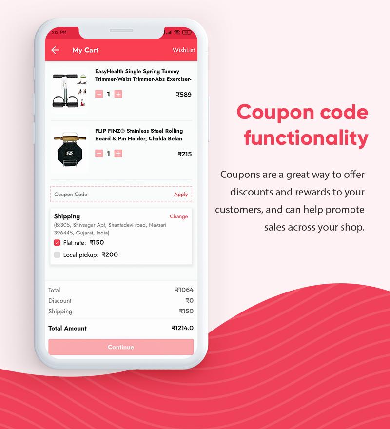 ProShop Dokan Multi Vendor - Android E-commerce Full App for Woocommerce - 15 android e-commerce full app for woocommerce ProShop Dokan Multi Vendor Features6