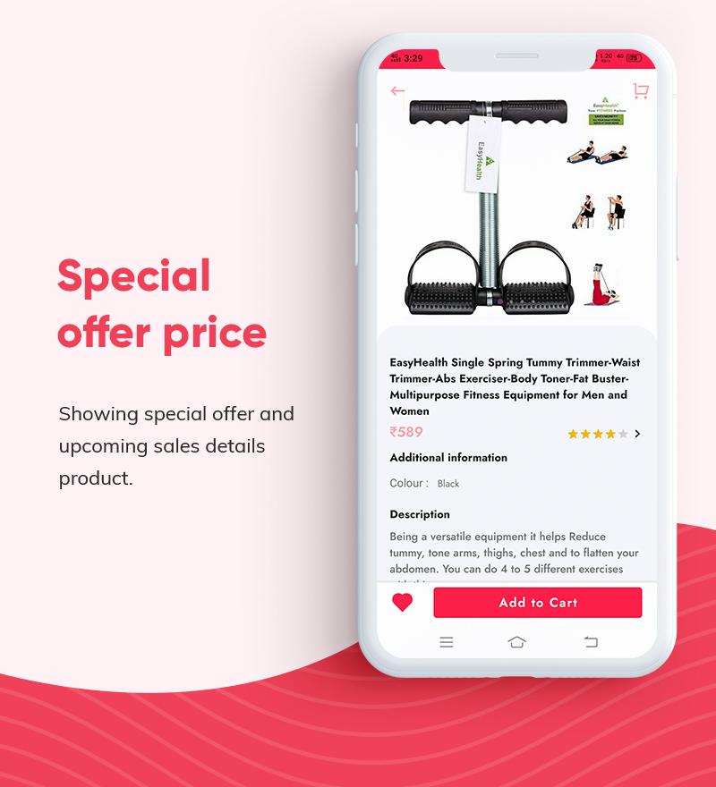 ProShop Dokan Multi Vendor - Android E-commerce Full App for Woocommerce - 17 android e-commerce full app for woocommerce ProShop Dokan Multi Vendor Features8