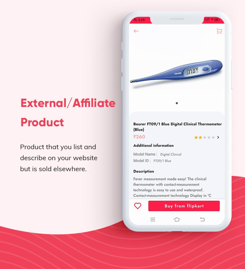 ProShop Dokan Multi Vendor - Android E-commerce Full App for Woocommerce - 18 android e-commerce full app for woocommerce ProShop Dokan Multi Vendor Features9