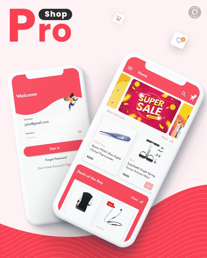 ProShop Dokan Multi Vendor - Android E-commerce Full App for Woocommerce - 5 android e-commerce full app for woocommerce ProShop Dokan Multi Vendor Img1