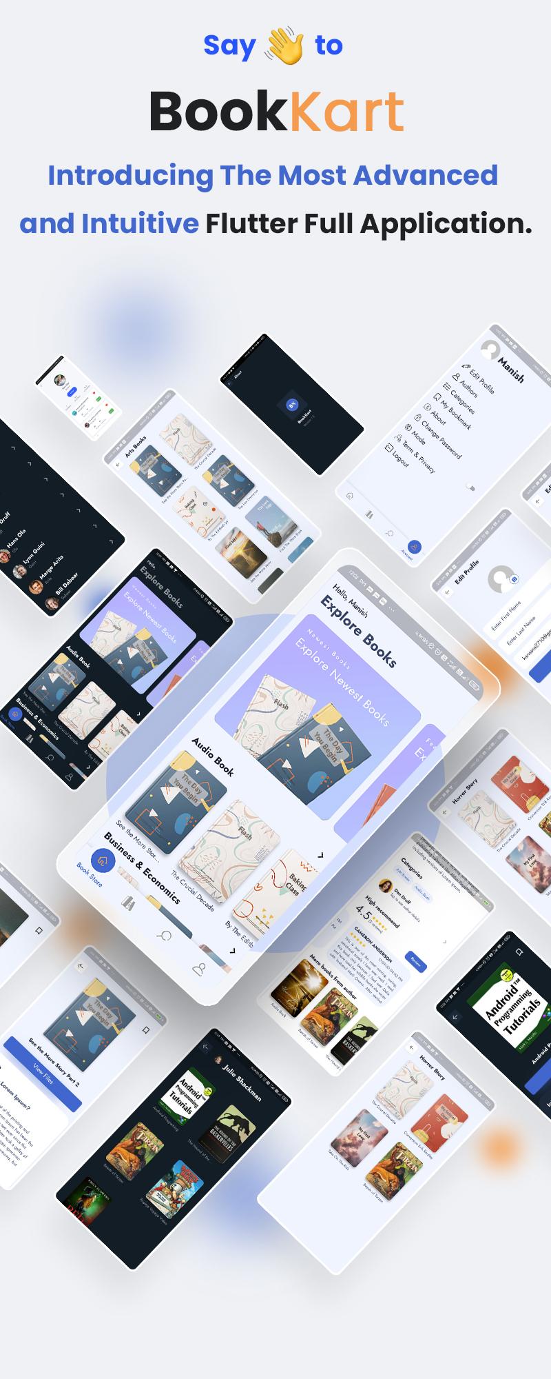 Flutter Ebook App | Bookkart | Iqonic Design flutter ebook reader app for wordpress with woocommerce Bookkart 3