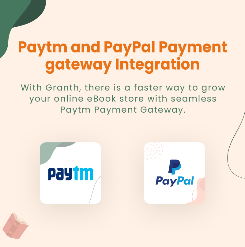 3 flutter ebook app with admin panel Granth 19 Paytm and PayPal Payment gateway Integration