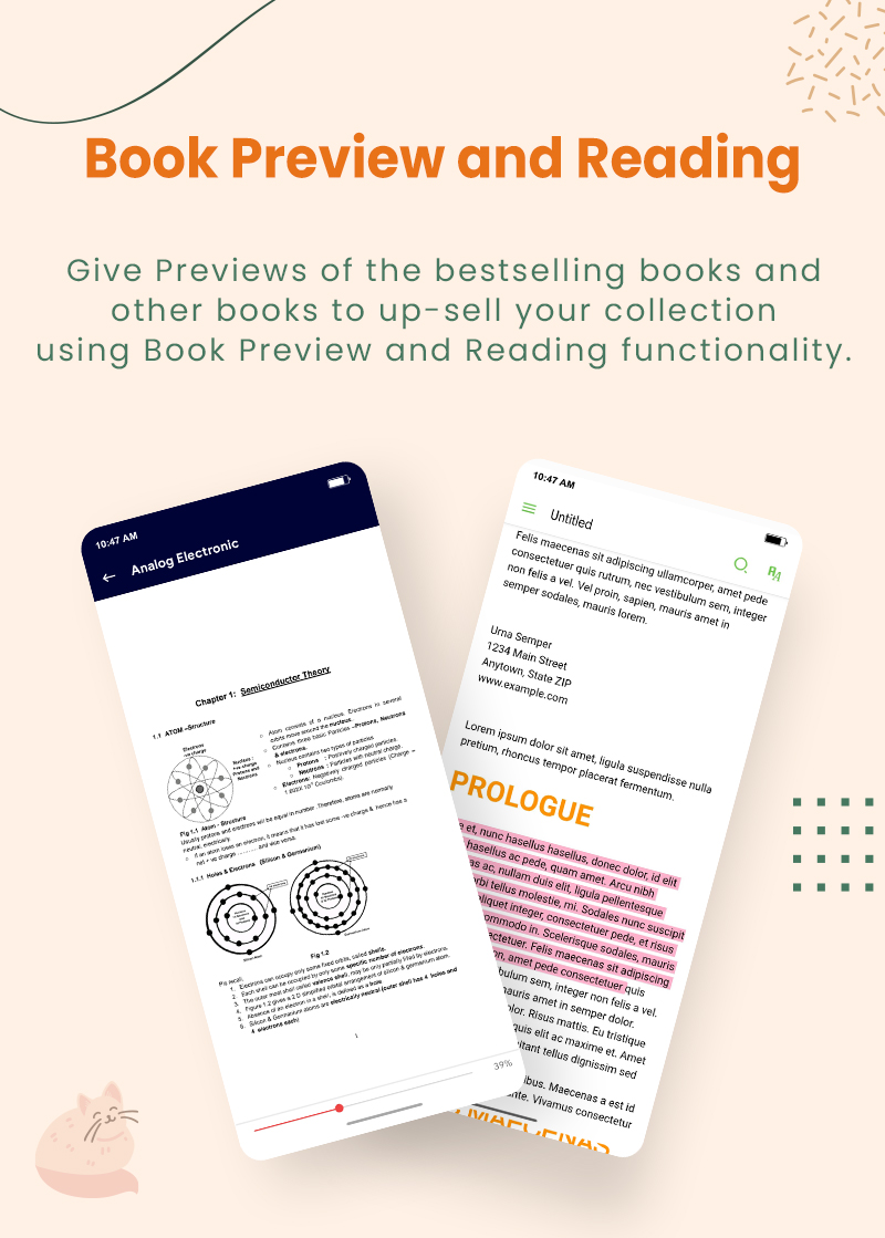 3 flutter ebook app with admin panel Granth 5 Book Preview and Reading