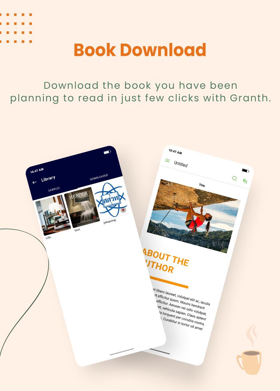 3 flutter ebook app with admin panel Granth 9 Book Download