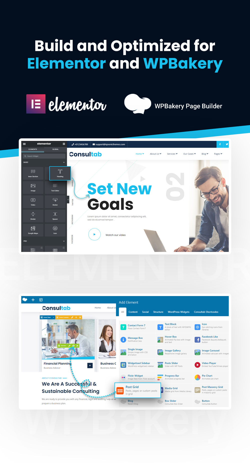 Consultab - Consulting Business & Finance WordPress Theme - 12 consulting business and finance wordpress theme Consultab n10