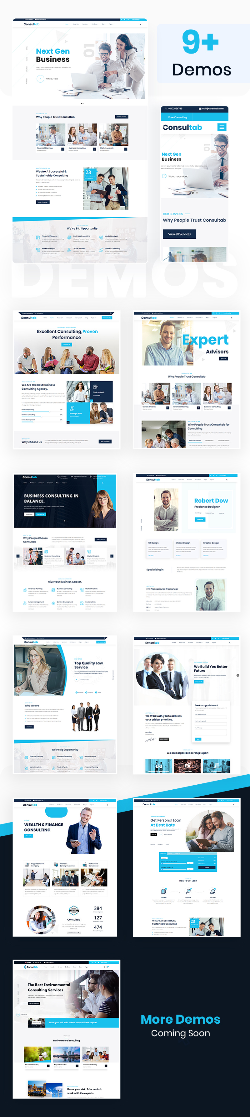 Consultab - Consulting Business & Finance WordPress Theme - 6 consulting business and finance wordpress theme Consultab n21