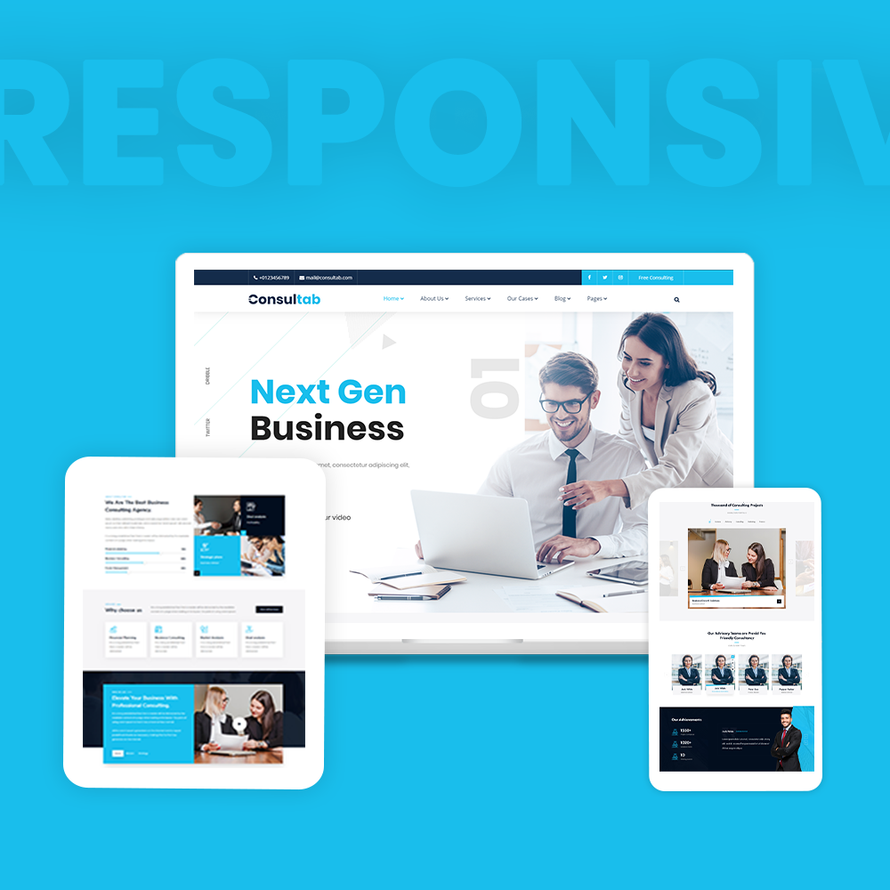 Consultab - Consulting Business & Finance WordPress Theme - 10 consulting business and finance wordpress theme Consultab n3