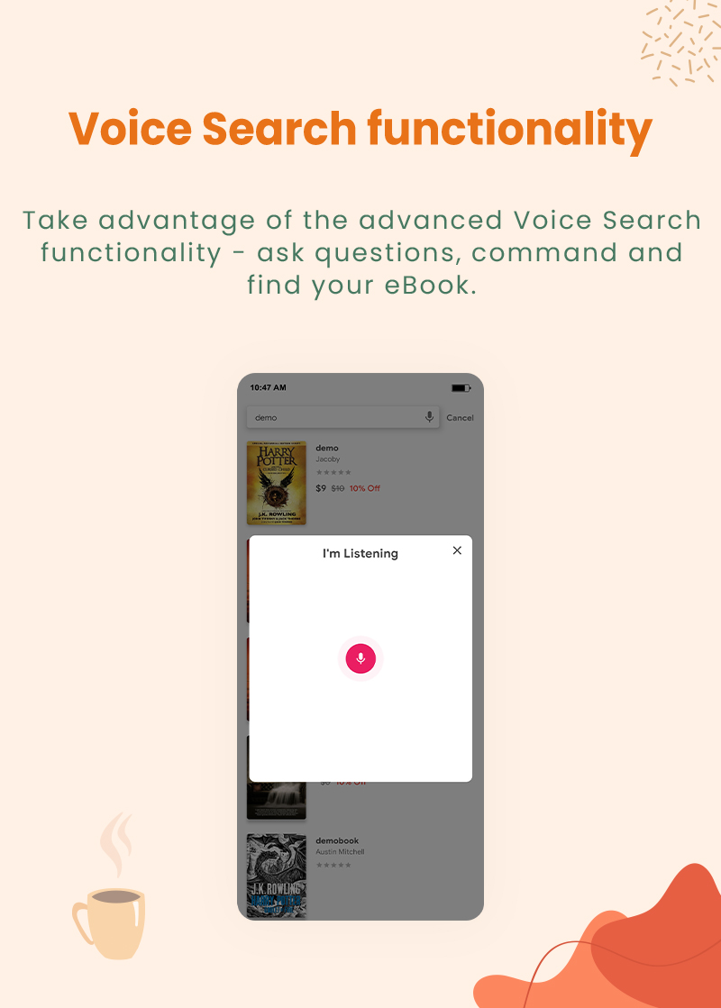 preview1 flutter ebook app with admin panel Granth 11