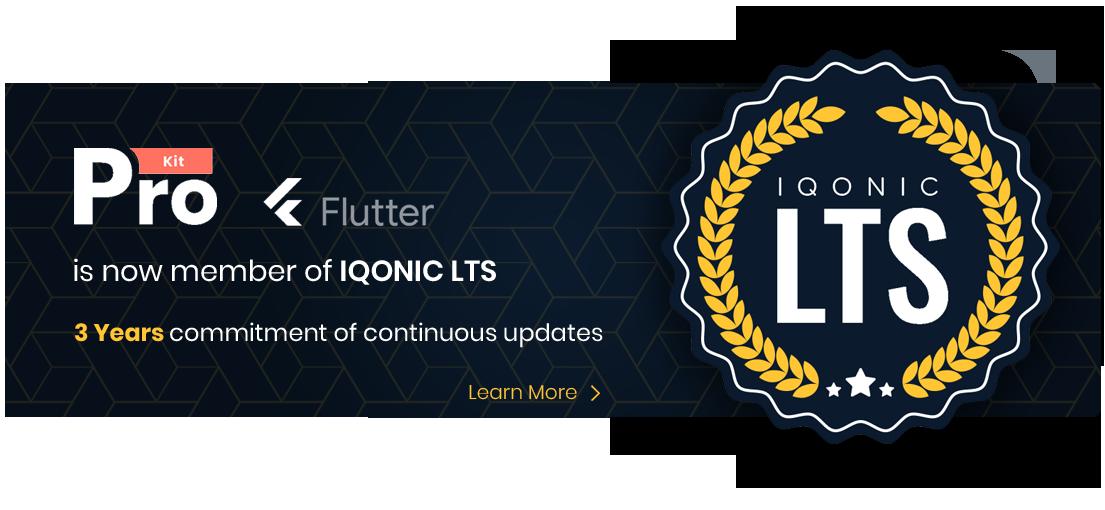 Best Flutter UI Templates | Prokit | Iqonic Design biggest flutter 2.0 ui kit ProKit prokit lts