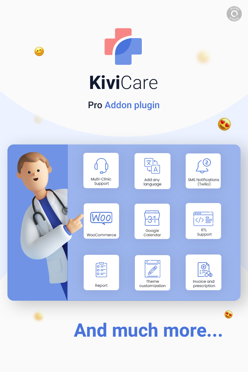 Kivicare Pro - Sistema de Gerenciamento de Clínica e Paciente EHR (Add-on) - 7
