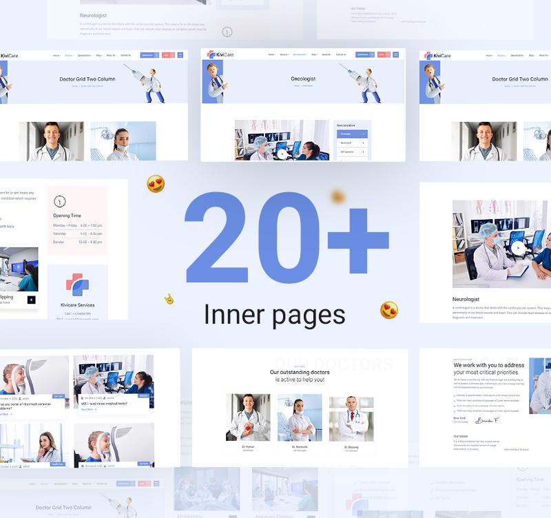 Medical Clinic and Patient Management WordPress Theme   KiviCare   Iqonic Design medical clinic and patient management wordpress theme KiviCare 5