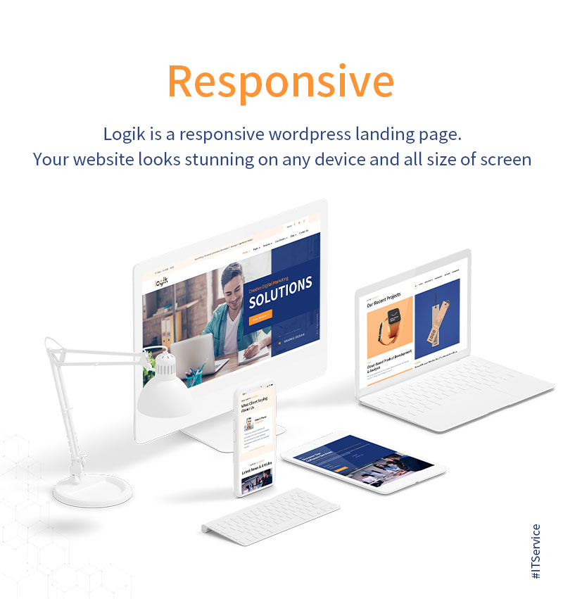 WordPress Themes for IT Company | Logik | Iqonic Design it solutions and technology wordpress theme Logik 06 responsive new