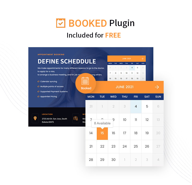 IT Services WordPress Theme | Logik | Iqonic Design it solutions and technology wordpress theme Logik booked banner