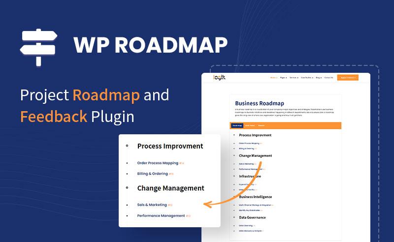WP Roadmap Free Product Feedback Board | WP Roadmap | Iqonic Design it solutions and technology wordpress theme Logik wp roadmap