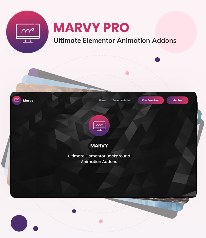 MarvyPro - Background Animations for Elementor - 9 background animations for elementor MarvyPro 1 1