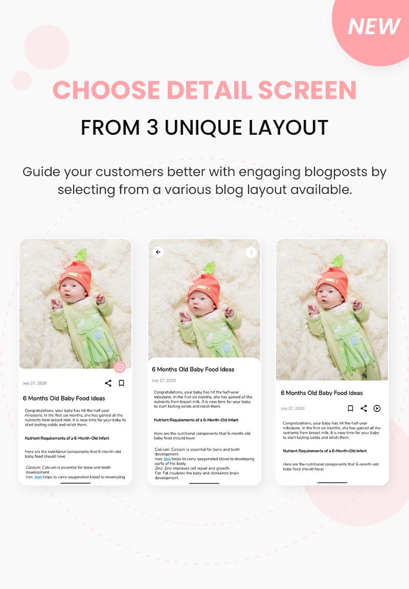Newz - Flutter 2.0 News & Blog App For WordPress - 6 flutter 2.0 news & blog app for wordpress Newz choose to detail