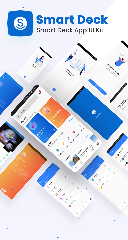 Smart Deck App UI Kit | Smart Deck | Iqonic Design biggest flutter 2.0 ui kit ProKit full app 10