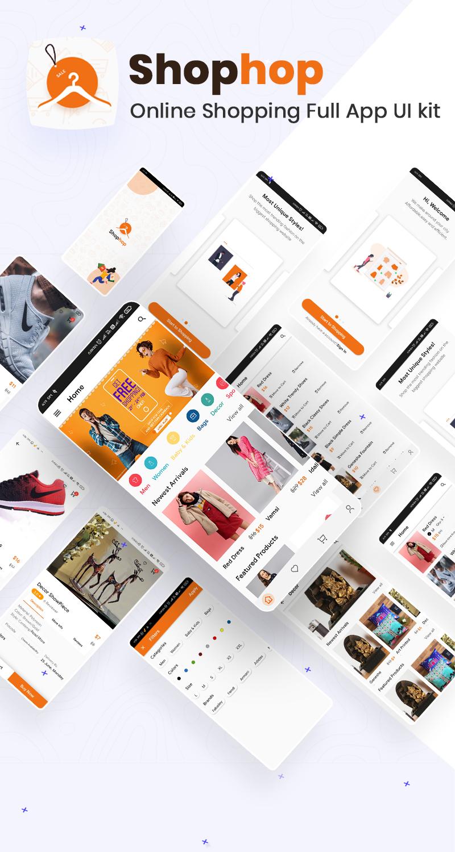 biggest flutter 2.0 ui kit ProKit full app 5