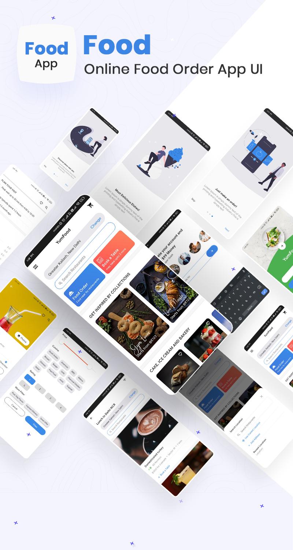 Online Food Order App UI | Iqonic Design biggest flutter 2.0 ui kit ProKit full app 6