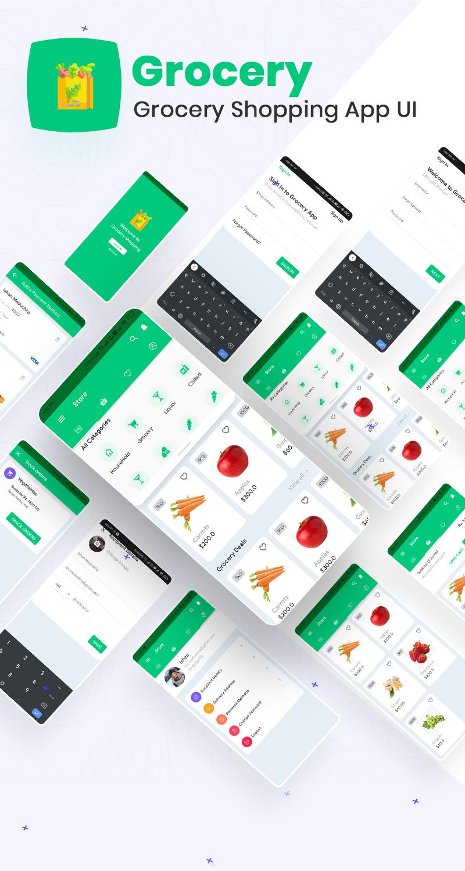 Grocery Shopping App UI | Iqonic Design biggest flutter 2.0 ui kit ProKit full app 7