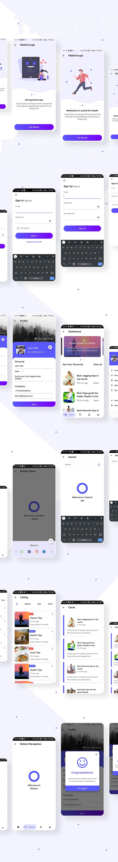 Biggest Flutter 2.0 UI Kit | Prokit | Iqonic Design biggest flutter 2.0 ui kit ProKit theme 2