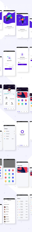 Flutter Mobile App Templates | Prokit | Iqonic Design biggest flutter 2.0 ui kit ProKit theme 5