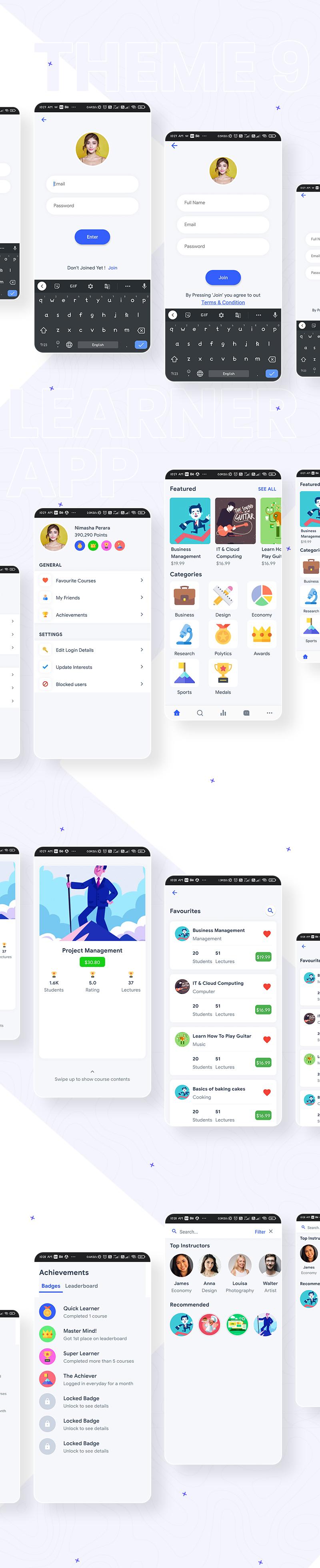 Flutter Mobile App Templates | Prokit | Iqonic Design  biggest flutter 2.0 ui kit ProKit theme 9