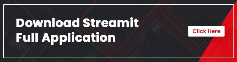 Netflix like Flutter Mobile App | Streamit | Iqonic Design flutter full app for video streaming with wordpress backend Streamit Download  Full app1