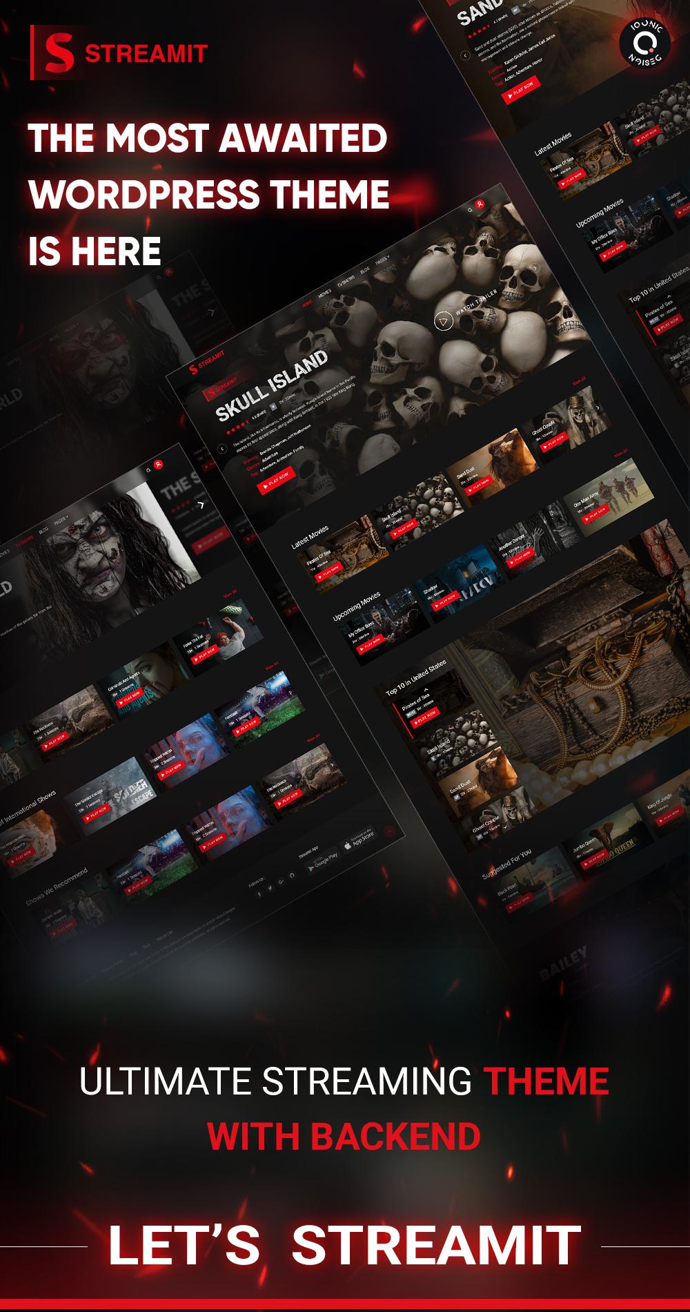 Streamit | Video Streaming WordPress Theme + RTL - 11