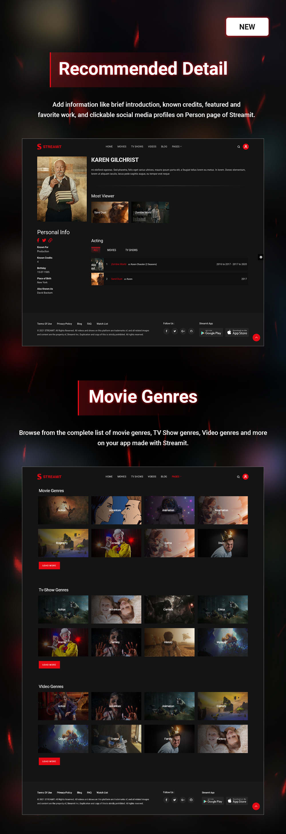 Streamit | Video Streaming WordPress Theme + RTL - 13