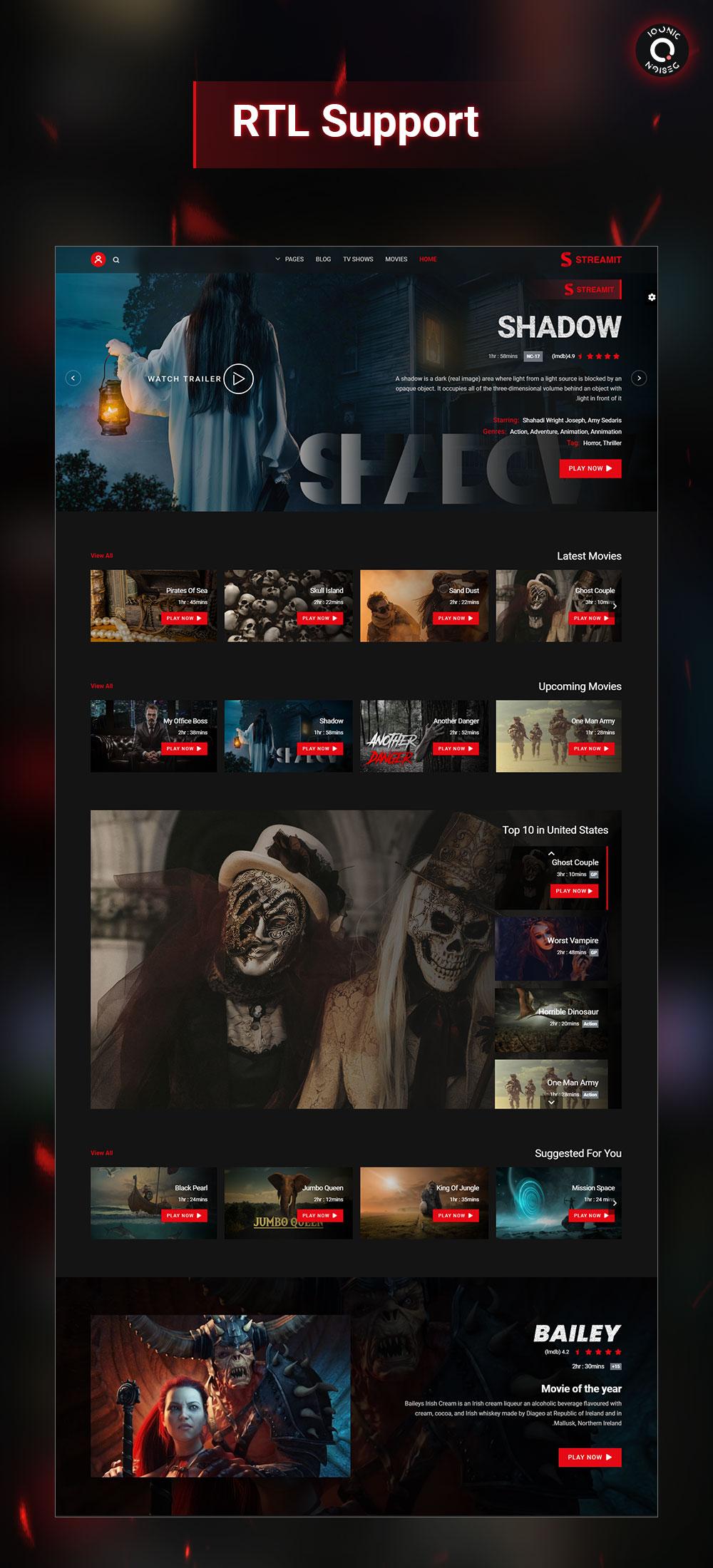 Streamit | Video Streaming WordPress Theme + RTL - 14