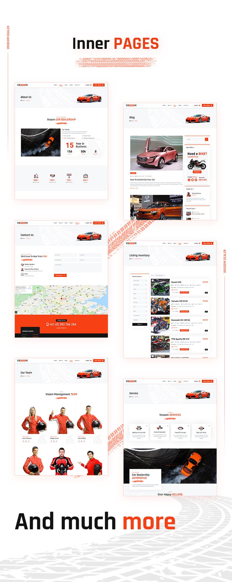 Vrooom - Auto Dealer WordPress Theme - 8 auto dealer wordpress theme Vrooom 03